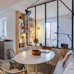Verrière lumineuse salon - séjour, ambiance cocooning